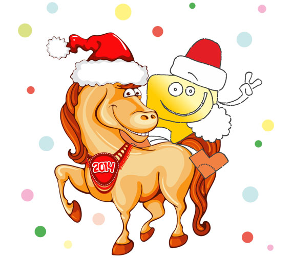 График работы сервиса Блогун в период Новогодних праздников. Лошадь 2014!